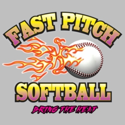 Wholesale Products - Fast Pitch Softball Neon T Shirts Graphic Funny Clothing in Bulk - 19490NBT4