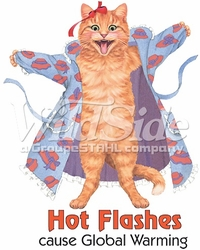 Wholesale Red Hat T-Shirts Bulk Sale - p-79566-12791-10x13-hot-flash-global-warm-cat-red-hat[1]