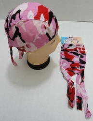 Wholesale Suppliers Wholesalers, Products - Camouflage Caps & Hats | Camouflage Baseball Cap & Hat - BN353. Skull Cap-Pink Red Camo