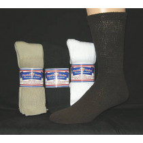 Wholesale Socks - Buy Cheap Socks USA Made Physician's Choice Diabetic Crew Socks - 12 Pair 9-11