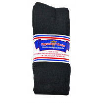 Wholesale Socks - Physician's Choice Black Diabetic Crew Socks Size 13-15