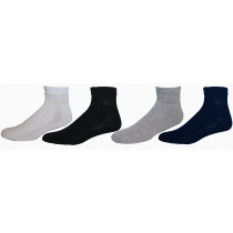 Wholesale Socks - PHYSICIANS CHOICE ASSORTED DIABETIC QUARTERS SIZE 13-15