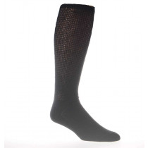 Wholesale Socks - PHYSICIANS CHOICE BLACK OVER THE CALF DIABETIC CREW SOCKS SIZE 10-13