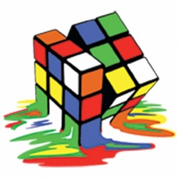 Wholesale T Shirts Hats Caps, Men's Women's Adult Wholesale Funny T Shirts in Bulk - Melting Rubiks Cube T Shirts - a9299e - MSC Distributors