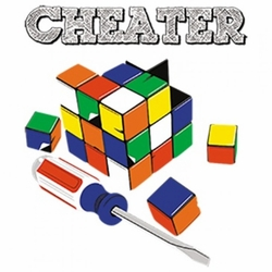 Wholesale Bulk Men's Women's Adult Rubik's Cube Cheater T-Shirts - MSC Distributors