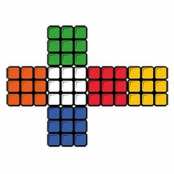 Wholesale Bulk Men's Women's Adult Rubiks Cube Cross T-Shirts - a8294f