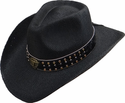 Wholesale Straw Hats - Sun Hats, Fedoras, Visors, Cowboy Hats - SC-248 Straw Hat