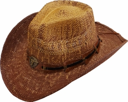 Wholesale Straw Hats - Sun Hats, Fedoras, Visors, Cowboy Hats - SC-250 Straw Hat