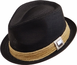 Wholesale Suppliers Wholesalers, Products - Fedoras, Visors, Cowboy Wholesale Hats - SF-121 Straw Fedora