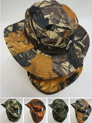 Wholesale Suppliers Wholesalers, Products - HT899. Boonie Hat with Cloth Flap [Hardwood Camo]