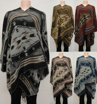 Wholesale Suppliers Wholesalers, Products - WN3082. Wrap-Around Shawl [Southwest Design]
