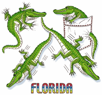 Wholesale T Shirts - Bulk Clothing Florida Resort Suppliers - 13999 gator