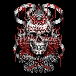 Skull T Shirts, Cheap Online Sale At Wholesale Prices - Demonized Sugar Skull a10685c