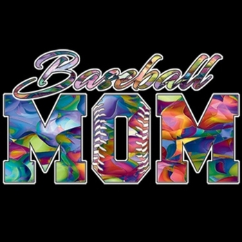 Wholesale Fashion T-Shirts - Baseball Mom T-Shirts - a9508g