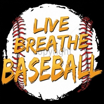 Wholesale Fashion T-Shirts - Baseball T Shirts - Live Breathe Baseball a6226c