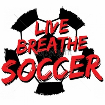 Wholesale T Shirts Bulk Suppliers Funny T Shirts - Live Breathe Soccer A6110E