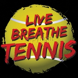 Wholesale T Shirts Bulk Suppliers Funny T Shirts - Live Breathe Tennis a6355d