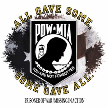 Pow Mia T-Shirts & Shirt Designs, Patriotic, Wholesale, Bulk, Supplier - 6036