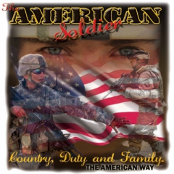Custom Personalized American Soldier Wholesale Military T Shirts Cheap Online Sale At Wholesale Prices - 6476