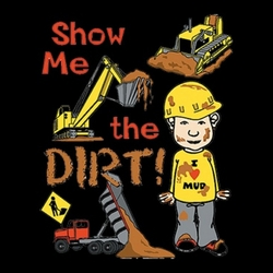 Wholesale T Shirts, Bulk T Shirts - Show Me The Dirt a10261a