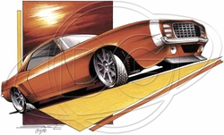 Wholesale Products - Ford Mustang Car T-Shirt Supplier, Wholesale Supplier of Funny T-Shirts in Bulk - POS-464
