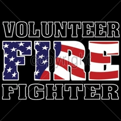 Wholesale Firefighter Apparel Suppliers, Volunteer Firefighter T Shirts - A6569G