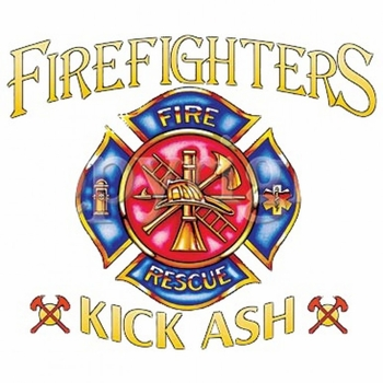 Wholesale Fire Fighter T-Shirts - Kick Ash - MSC Distributors