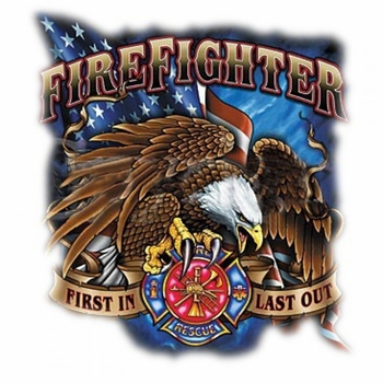 Firefighter T-Shirts - A9527D