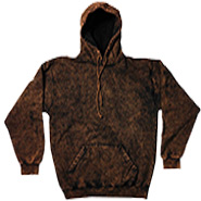 Clothing Hoodies Tie Dye Mineral Wholesale Bulk Suppliers - MINERAL BROWN