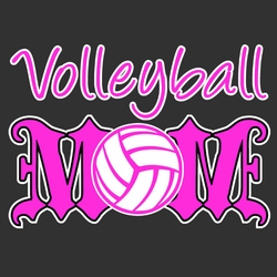Volleyball Mom T Shirts, Wholesale - 9341