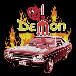 Demon Vintage Men's Classic Cars T Shirts Clothing Supplier Wholesale in Bulk - 21534HD1-1