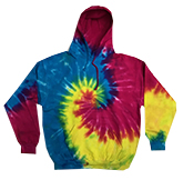 Wholesale Clothing Tie Dye Hoodies T Shirts Hats Products Men's Women's Bulk Suppliers Online Buy Shop - Reactive Rainbow - MSC Distributors