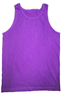 Tie Dye Tank Tops Apparel - NEON PURPLE