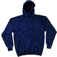 Clothing Hoodies Tie Dye Mineral Wholesale Bulk Suppliers - MINERAL NAVY