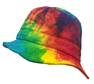 Wholesale Headwear, Tie Dye Hats Caps, Rainbow, Bucket Hat - MSC Distributors