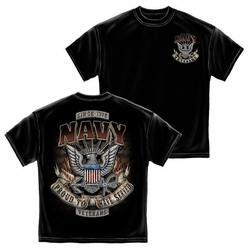 Wholesale Clothing, Military T Shirts - Proud To Have Served Navy Veterans T-Shirt