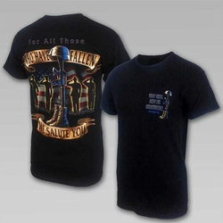 Wholesale Clothing, Military T Shirts - Salute To Fallen Soldiers T-Shirt