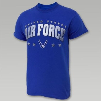 Wholesale US Military Clothing T Shirts Hats Caps - US Air Force 4-Star T-Shirt