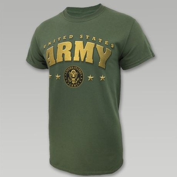 Wholesale US Military Clothing T Shirts Hats Caps - US Army 4-Star T-Shirt