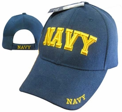 Wholesale US Navy Hats Caps - CAP602DG NAVY