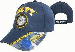 Wholesale US Navy Hats Caps - CAP602M  Navy Emblem Cap