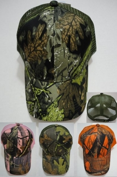 Realtree Hardwoods HD® Camo - Wholesale Bulk Supplier - HT751. Camo Mesh Hat Assortment [Four Styles]