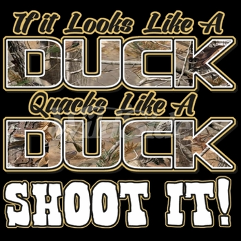Wholesale Duck Hunting T Shirts Funny - 18677