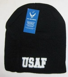 Wholesale Men's Hats and Caps - IN603D USAF Beanie