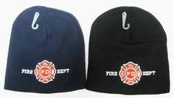 Wholesale Bulk Mens Hats and Caps Suppliers Printed - WIN655 Fire Dept. Beanie