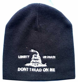 Mens Hats and Caps Bulk Suppliers Wholesale - WIN982A Liberty or Death Beanie
