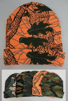 Realtree Hardwoods HD® Camo - Wholesale Bulk Supplier - WN684. Knitted Toboggan [Assorted Hardwoods Camo]