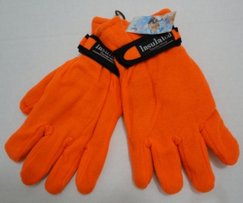 Orange Shooting Gloves, Insulated Gloves, Hunting Gloves, Wholesale, Bulk - MSC Distributors
