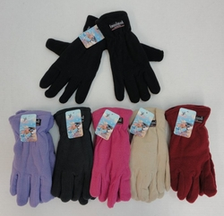 Wholesale Women's Girls Winter Gloves - WN45. Ladies Thermal Insulate Gloves