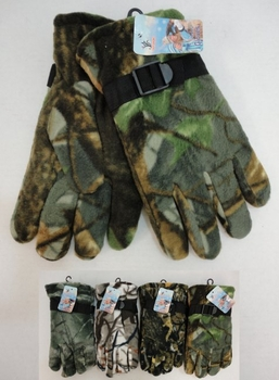 Realtree Hardwoods HD® Camo - Wholesale Bulk Supplier - WN600. Men's Hardwood Camo Fleece Gloves